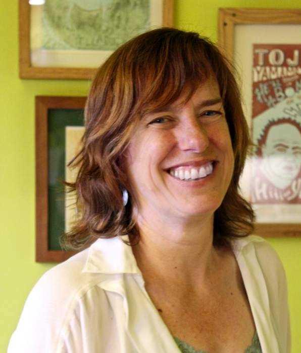 Lesley King smile